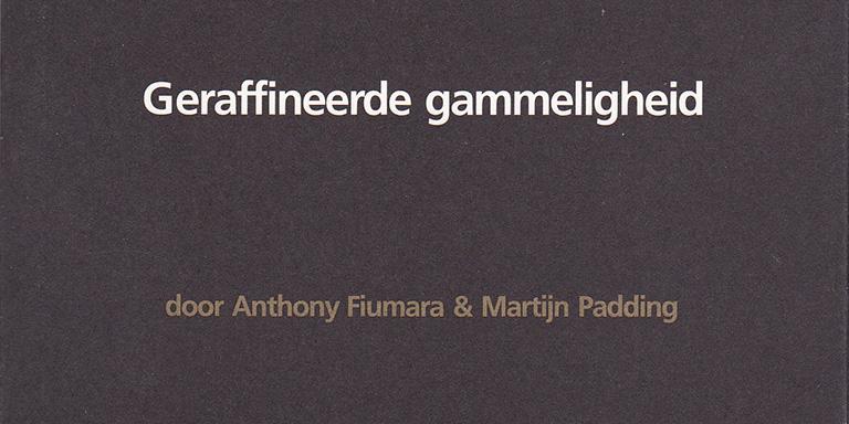 Anthony Fiumara & Martijn Padding: Geraffineerde gammeligheid – over Martijn Padding (November Music, 2009)