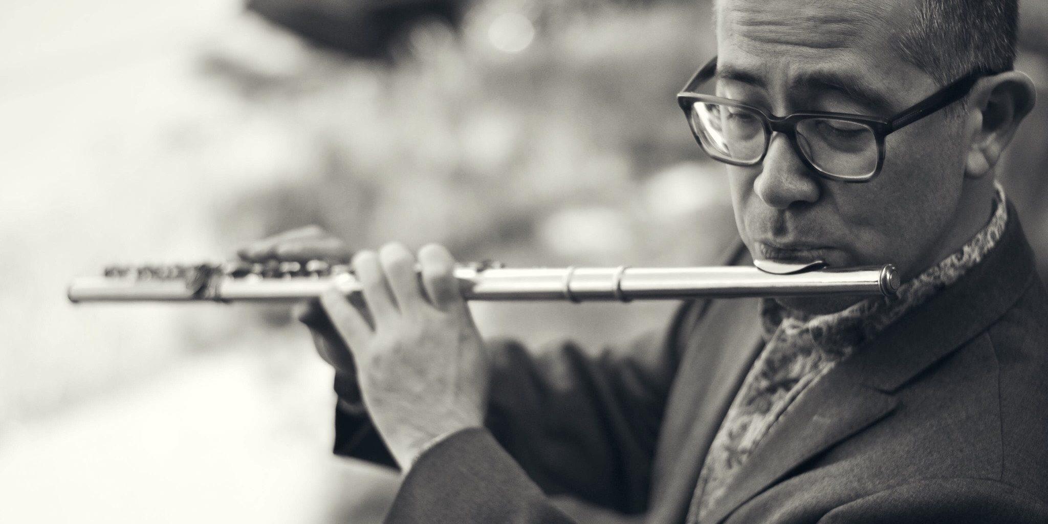 Di 25 augustus – Music on Main (CA), Mark Takeshi McGregor speelt compassie-solostuk 'Thin Air'